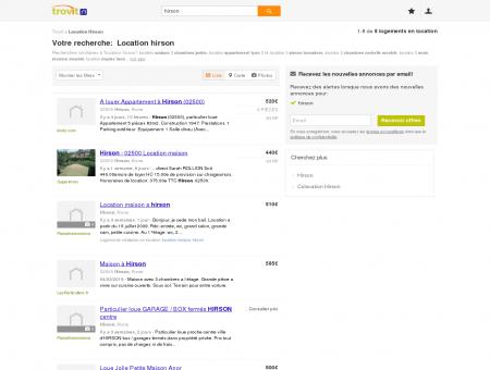 Location hirson - Trovit - Moteur de recherche...