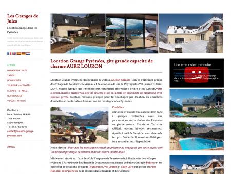 Location grange Pyrénées : les Granges de Jules