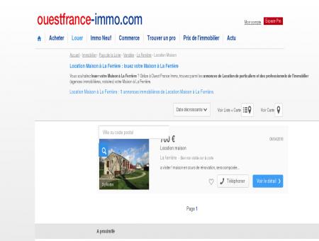 Location Maison à La Ferrière : louez votre...