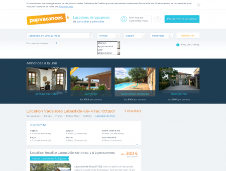 Location Labastide-de-Virac (07150) - Toutes...