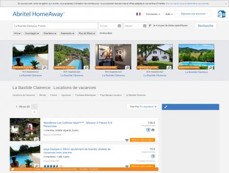 Location vacances La Bastide Clairence : toutes...