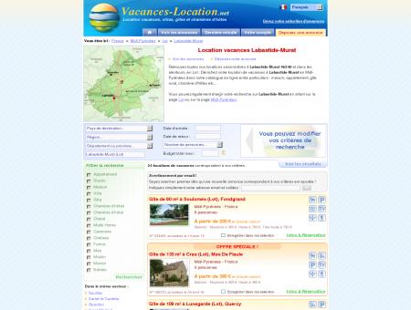Location vacances Labastide-Murat (46240) -...