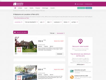 Location Maison Flers (61) | Louer Maison...
