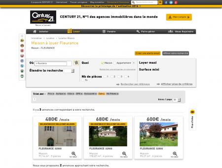 Location Maison à FLEURANCE (32500) -...