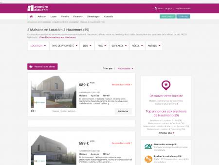 Location Maison Hautmont (59) | Louer...