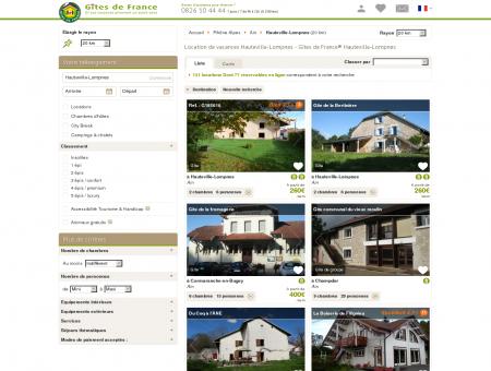 Location de vacances Hauteville-Lompnes -...