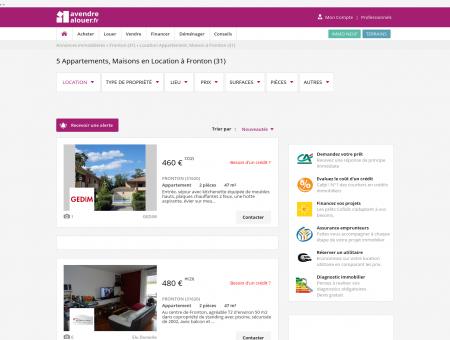 Location Fronton | avendrealouer.fr