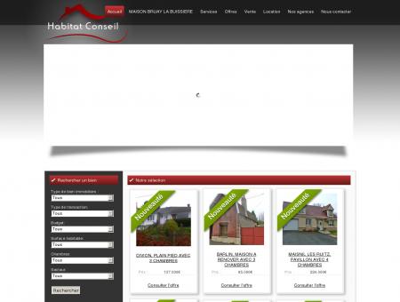 Habitat Conseil - agence immobilière Harnes,...