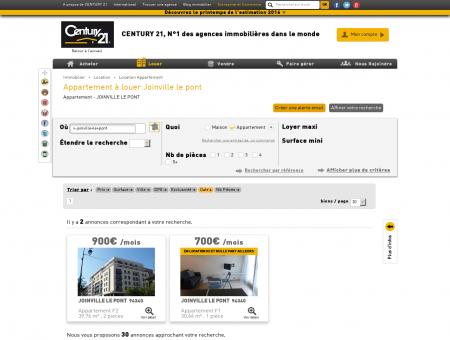 Location Appartement à JOINVILLE LE PONT...