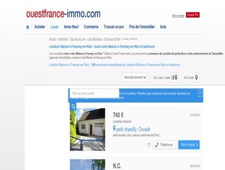 Fresnay-en-Retz : Annonces Location Maisonà...