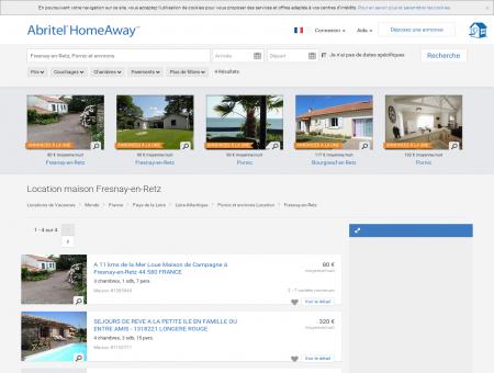 Fresnay-en-Retz : location maison de vacances...