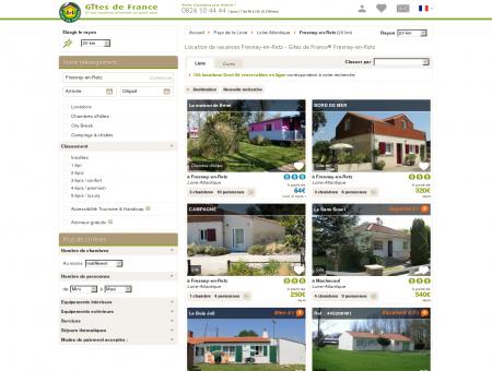 Location de vacances Fresnay-en-Retz - Gîtes...