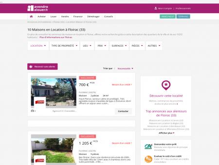 Location Maison Floirac (33) | Louer Maison...