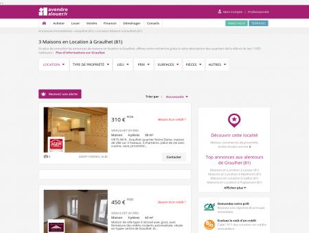 Location Maison Graulhet (81) | Louer Maison...