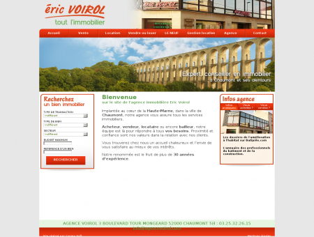 Agence Eric Voirol, Immobilier à Chaumont...