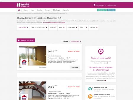 Location Appartement Chaumont (52) | Louer...