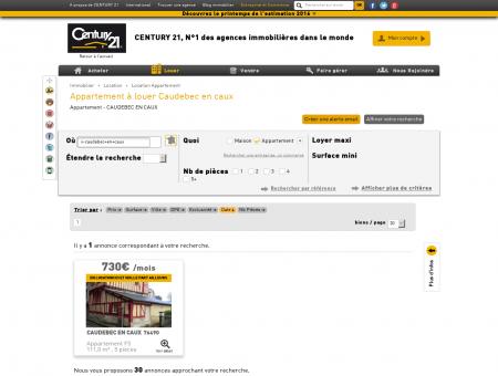 Location Appartement à CAUDEBEC EN CAUX...