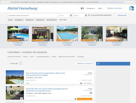 Location vacances Colombiers : toutes les...