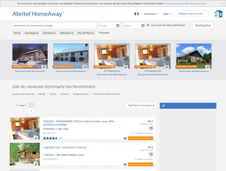 Dommartin les Remiremont : location gite...