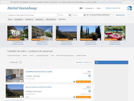 Location vacances Castillon du Gard : toutes...