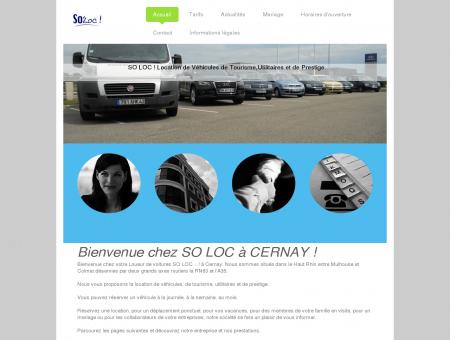 Bienvenue - SO LOC - Location de véhicules