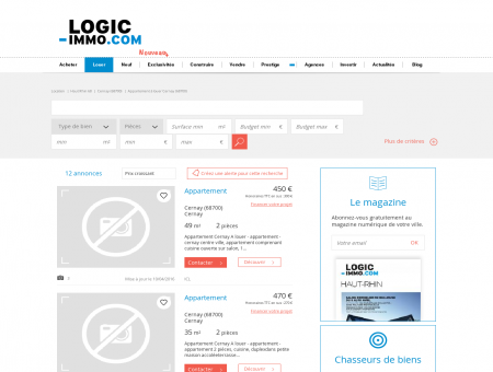 Location Cernay | Logic-Immo.com