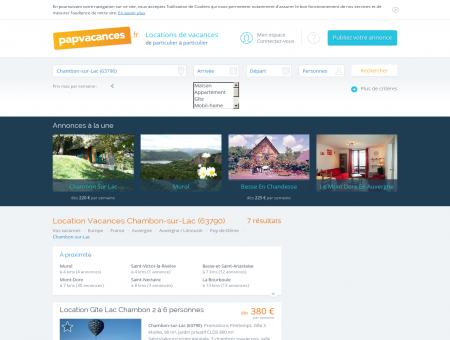 Location Chambon-sur-Lac (63790) - Toutes...