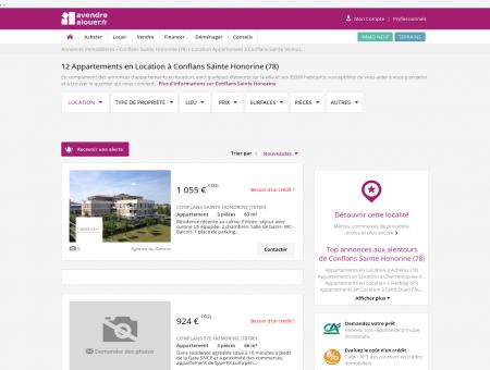 Location Appartement Conflans Sainte...