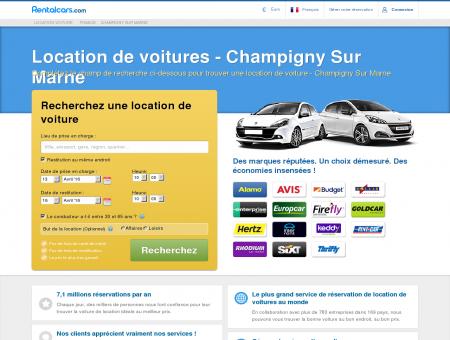 Champigny sur Marne - Location de Voiture Pas Chère!
