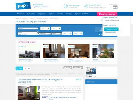 Location Champigny-sur-Marne - Toutes les...
