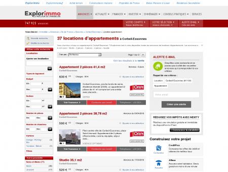 Location d'Appartements à Corbeil Essonnes...