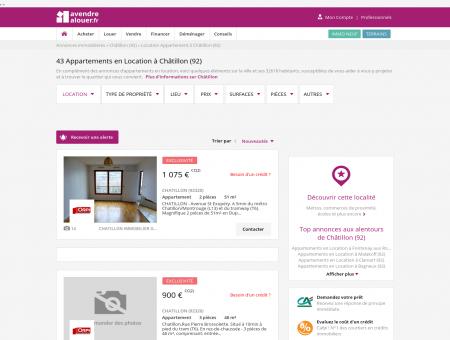 Location Appartement Châtillon (92) | Louer...