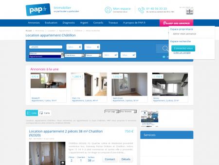 Location appartement Châtillon -...