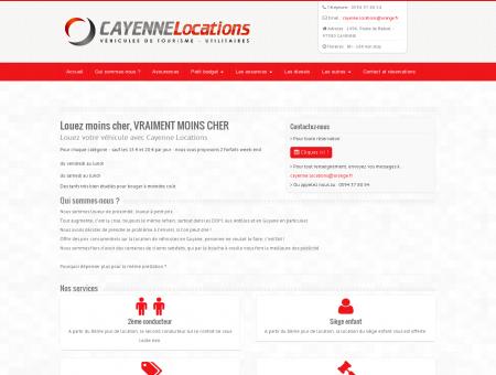 Cayenne locations - Location de voiture et...