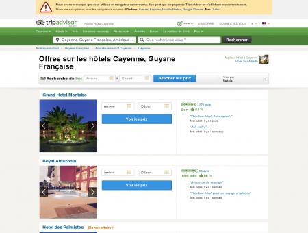 Location Cayenne - Quel est l'hôtel n°1 à Cayenne...