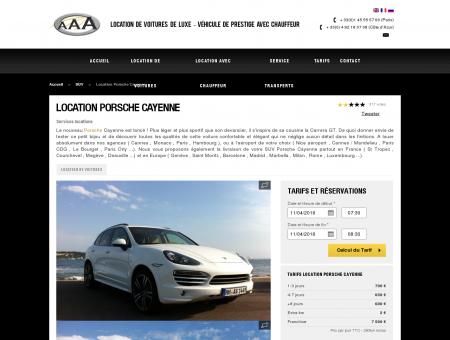 Location Porsche Cayenne | Louer le Nouveau...