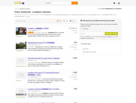 Location comines - Trovit - Moteur de...