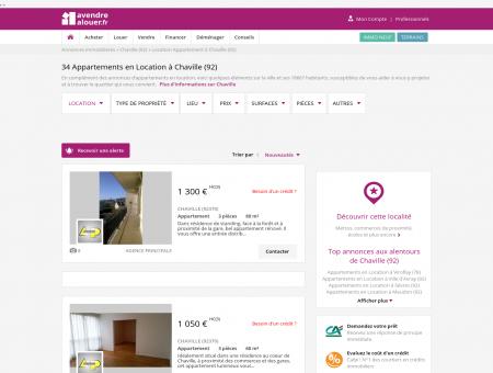 Location Appartement Chaville (92) | Louer...