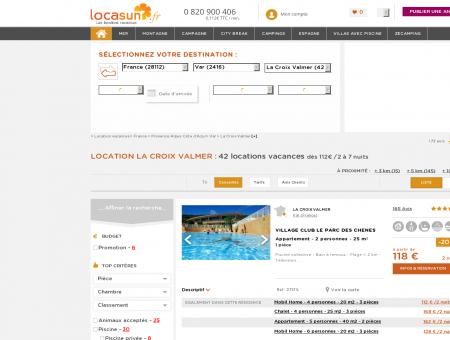 LOCATION LA CROIX VALMER : 28 locations...