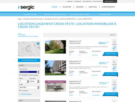 Location CROIX 59170 : location immobilier...