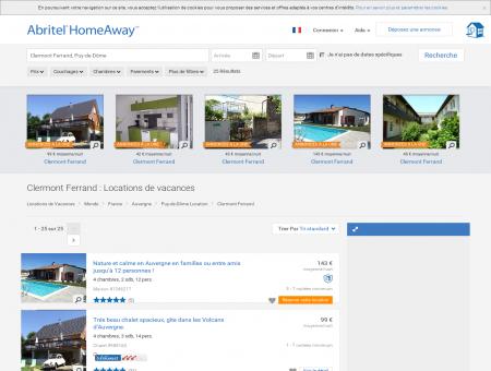 Location vacances à Clermont Ferrand : toutes...