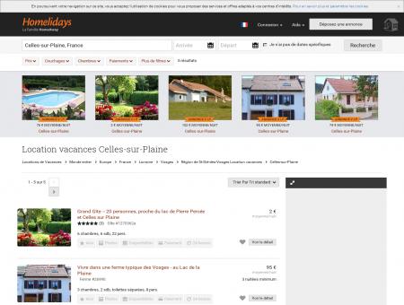Location vacances Celles-sur-Plaine : location ...