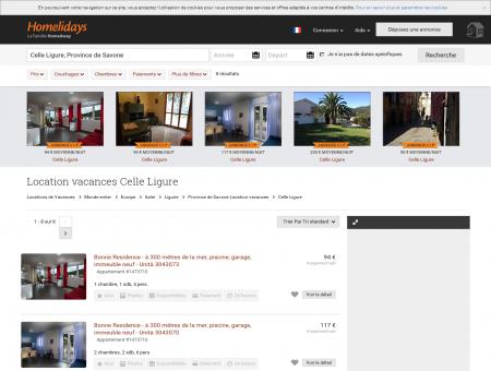 Location vacances Celle Ligure : location...