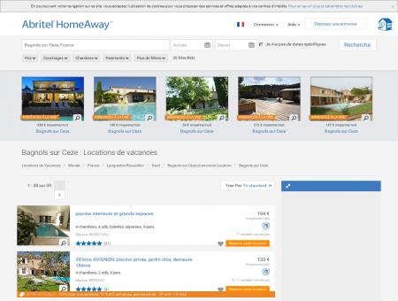 Location vacances Bagnols sur Ceze : toutes...