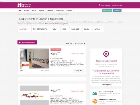 Location Appartement Bagnolet (93) | Louer...
