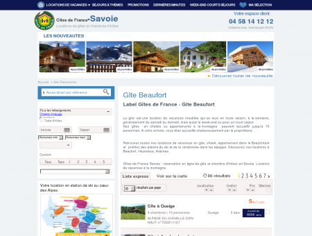 Gîte Beaufort - Gites de France Savoie -...