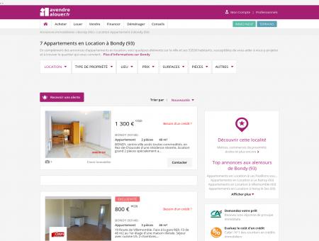 Location Appartement Bondy (93) | Louer...