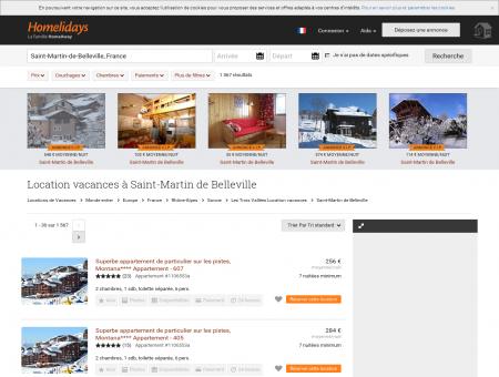 Location vacances à Saint-Martin de Belleville...