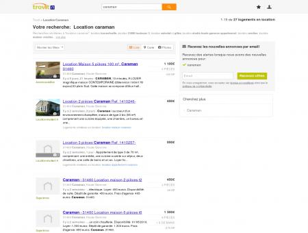 Location caraman - Trovit - Moteur de...