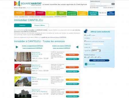 Immobilier CANTELEU 76380 : annonces...